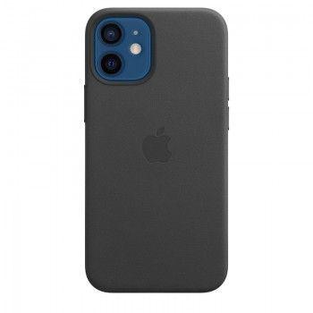 Capa em pele com MagSafe para iPhone 12 mini - Preto