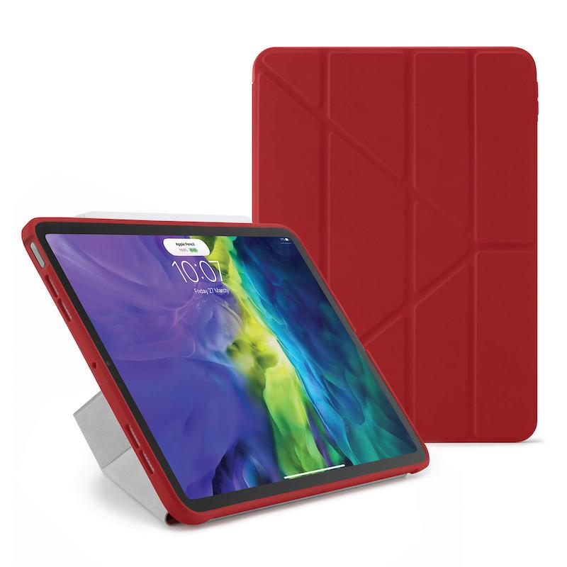 Capa para iPad Air 4 10.9 Pipetto Origami No1 Vermelha