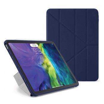 Capa para iPad Air 4 10.9 Pipetto Origami No1 Azul Escuro