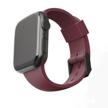Bracelete U by UAG Dot para Apple Watch 42/44 mm Aubergine