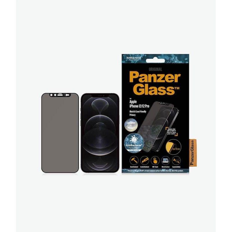 Película de proteção e privacidade para iPhone 12/12 Pro PanzerGlass CF CamSlider