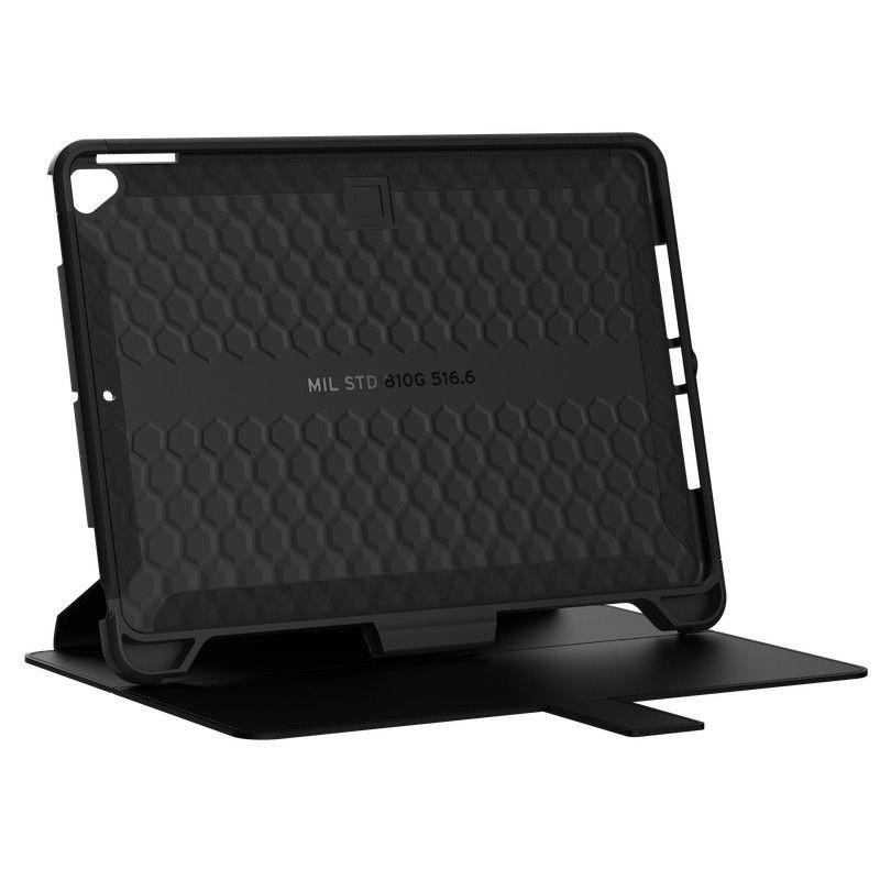 Capa para iPad 10.2 UAG Scout Folio Preto