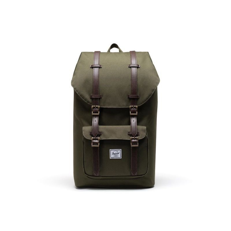 Mochila Herschel Little America Ivy Green/Chicory Coffee