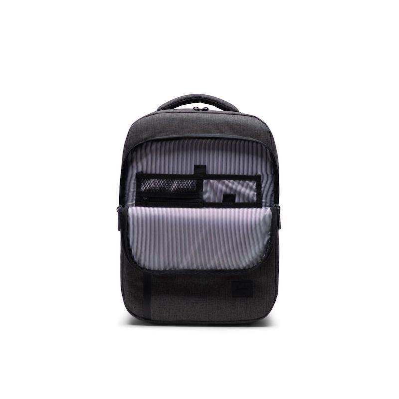 Mochila Herschel Tech Daypack Mid-Volume Black Crosshatch