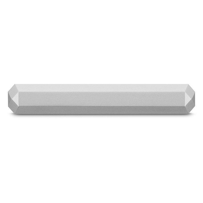Disco Rígido LaCie Mobile Drive USB-C Moon Silver 5 TB