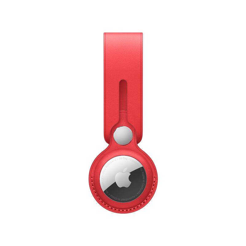 Loop em pele para AirTag - Vermelho PRODUCT(RED)