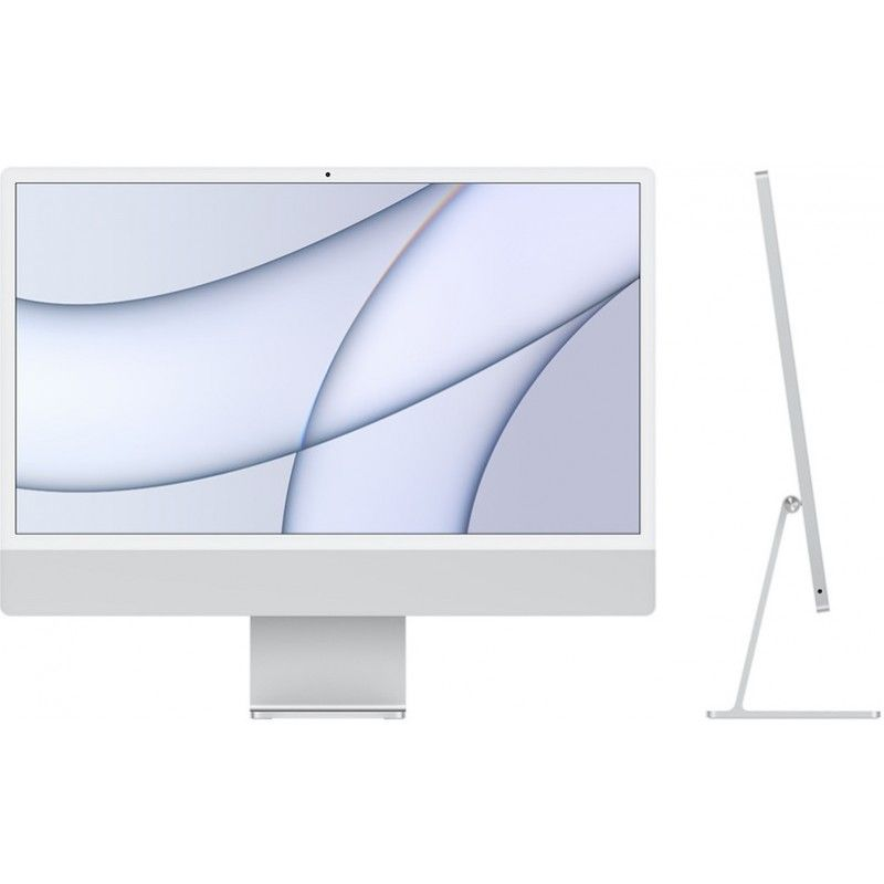 """iMac 24"""" Retina 4.5K M1 8C CPU /8C GPU /8GB /512GB - Prateado"""