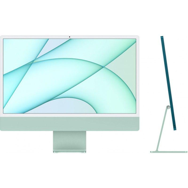 """iMac 24"""" Retina 4.5K M1 8C CPU /7C GPU  8GB  256GB - Verde"""