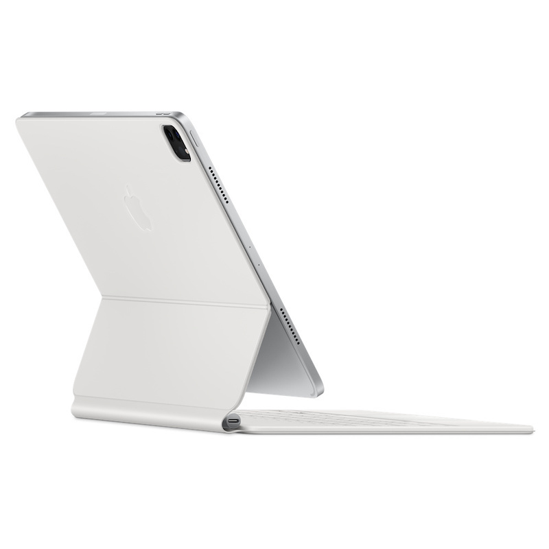 Capa com teclado Magic Keyboard para iPad Pro 12,9 (3/4/5 gen.) - Branco