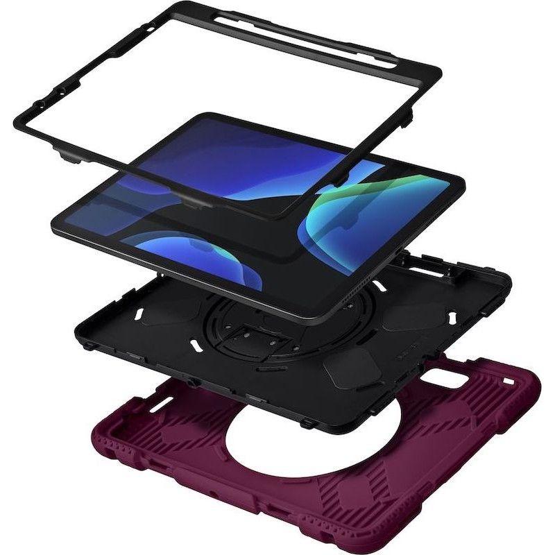 Capa LAUT SHIELD ENDURO para iPad Air 10.9/Pro 11 (2018/2021) Plum