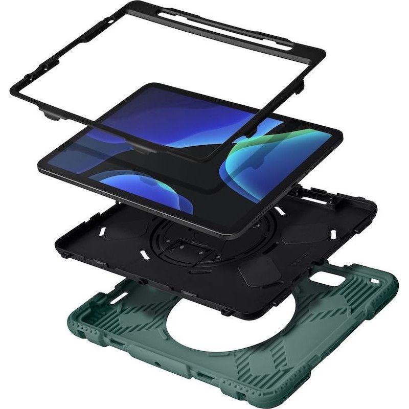 Capa LAUT SHIELD ENDURO para iPad Air 10.9/Pro 11 (2018/2021) Sage Green