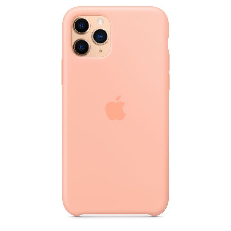 Capa para iPhone 11 Pro em silicone - Toranja