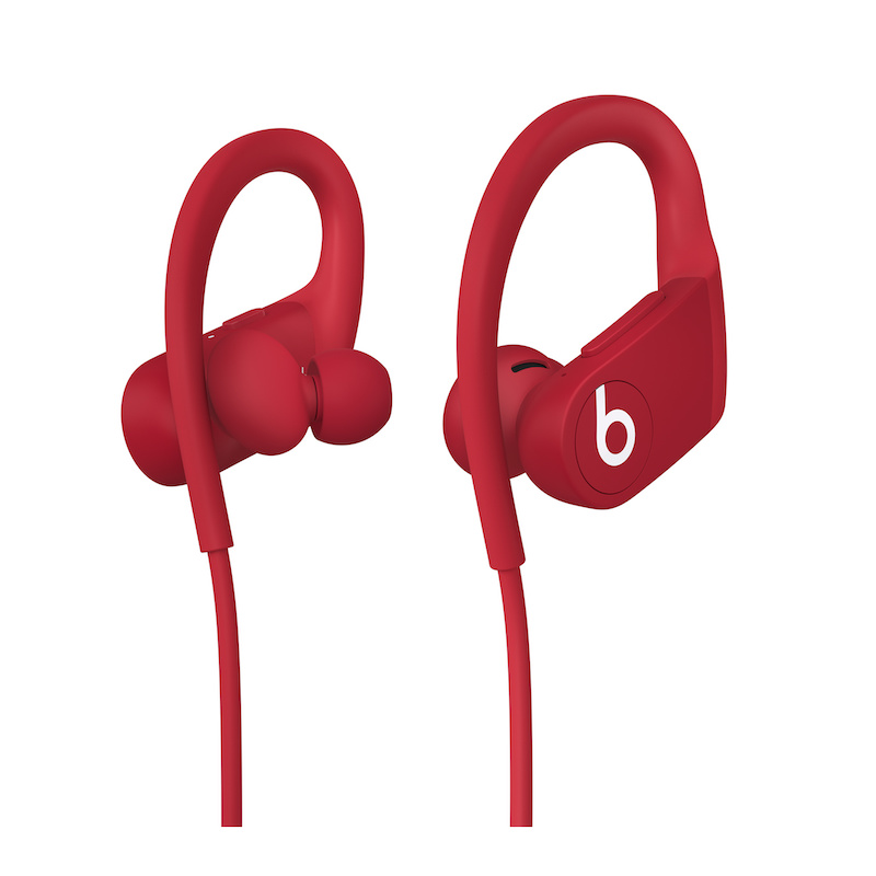 Auriculares sem fios Powerbeats de elevado desempenho - Vermelho