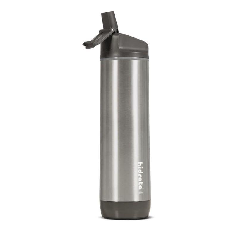 Garrafa Inteligente HIDRATE Spark Straw 620 ml Inox Prateado