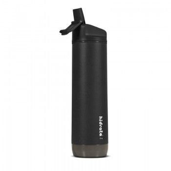Garrafa Inteligente HIDRATE Spark Straw 620 ml Inox Preto