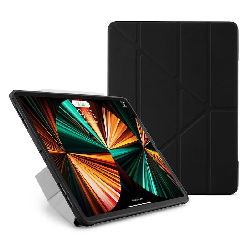 Capa iPad Pro 12.9 (2021) Pipetto Origami No1 Preta