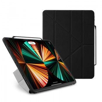 Capa iPad Pro 12.9 (2021) Pipetto Origami No3 Preta