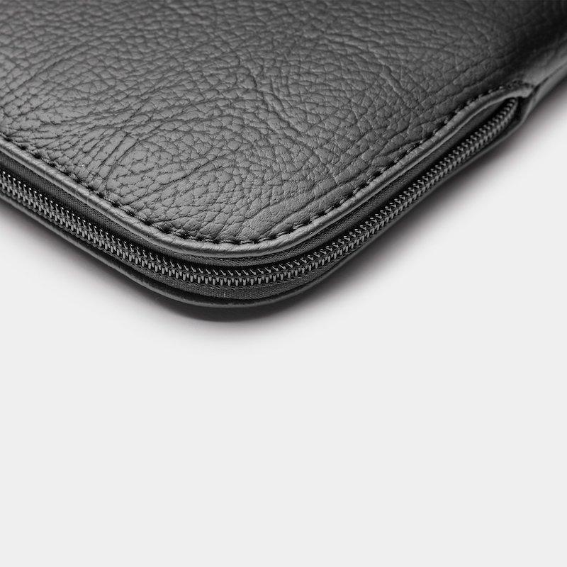 Sleeve Trunk MacBook Pro 16 Apple Peel Vegan Leather Black