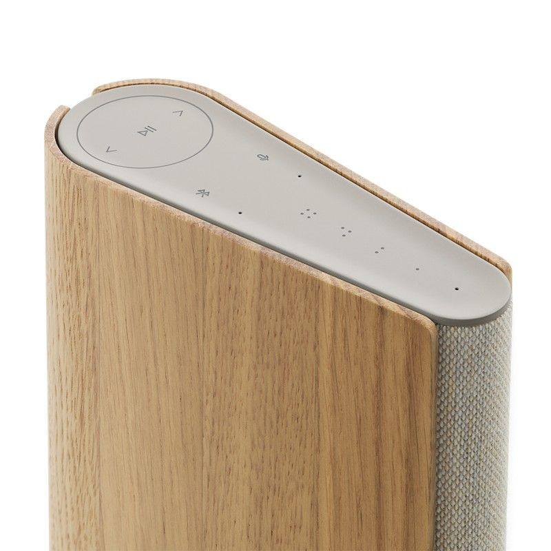 Coluna Bang & Olufsen BeoSound Emerge AL2 Gold Tone/Light Oak