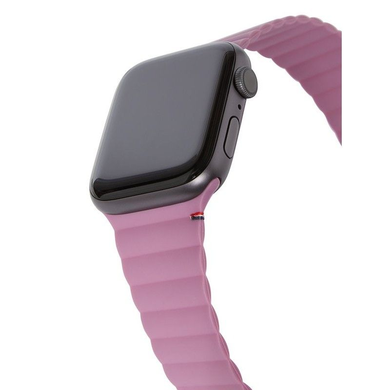 Bracelete Magnética Decoded Silicone Traction para Apple Watch 42/44mm - Mauve