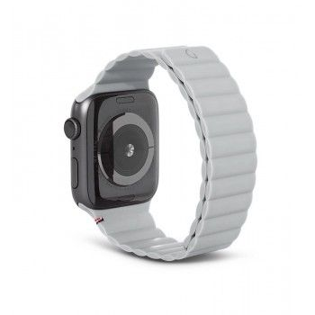 Bracelete Magnética Decoded Silicone Traction para Apple Watch 42 a 45 mm - Clay