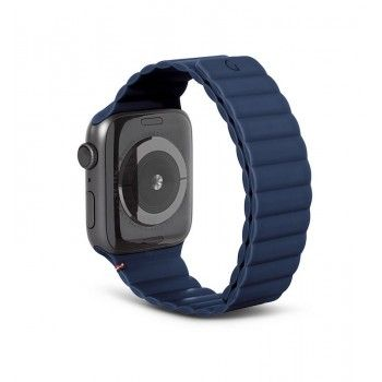 Bracelete Magnética Decoded Silicone Traction para Apple Watch 42 a 45 mm - Matte Navy