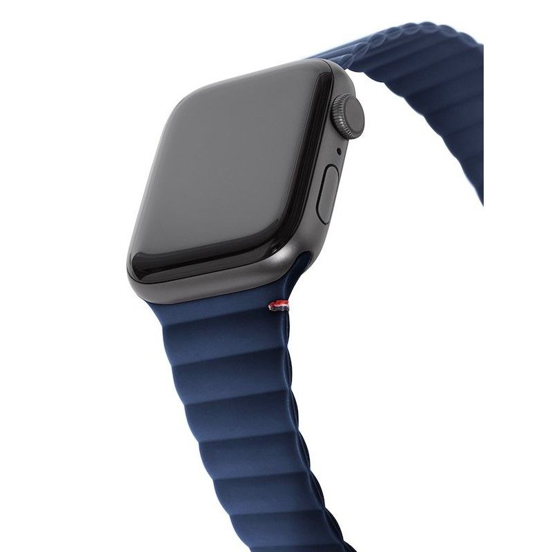 Bracelete Magnética Decoded Silicone Traction para Apple Watch 42/44mm - Matte Navy