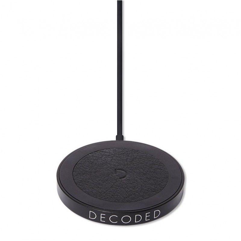Disco Magnético de Carregamento Decoded Wireless 15W Black