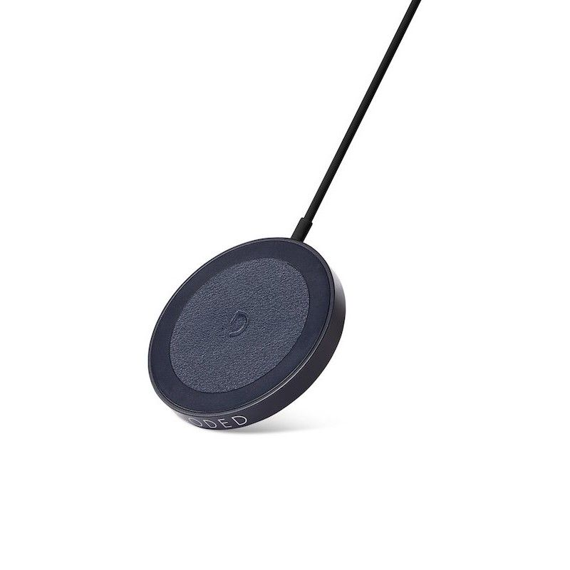 Disco Magnético de Carregamento Decoded Wireless 15W Navy