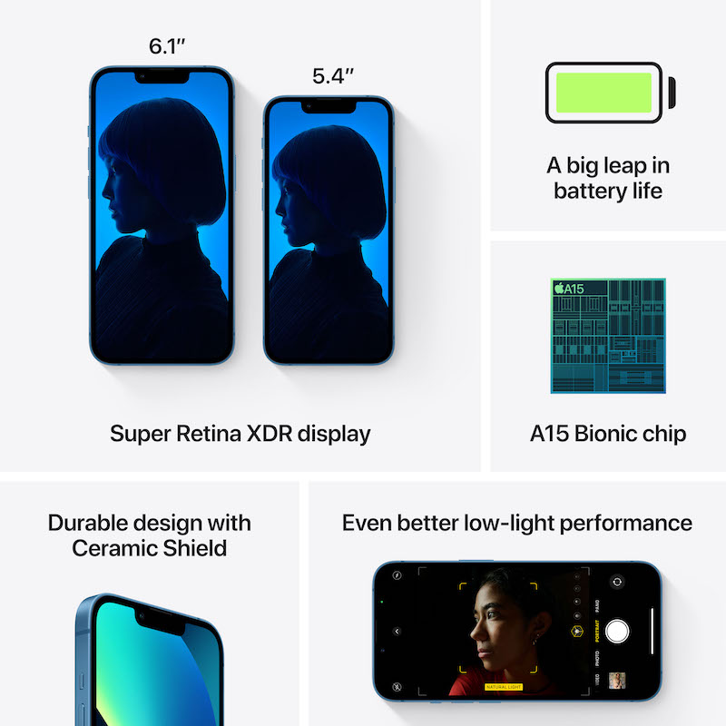 iPhone 13 256 GB - Azul