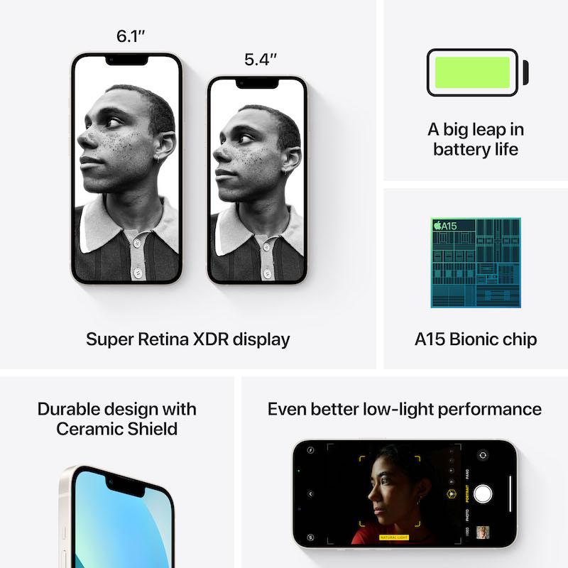 iPhone 13 512 GB - Luz das estrelas