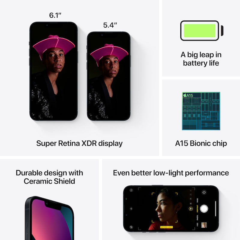 iPhone 13 mini 512 GB - Meia-noite