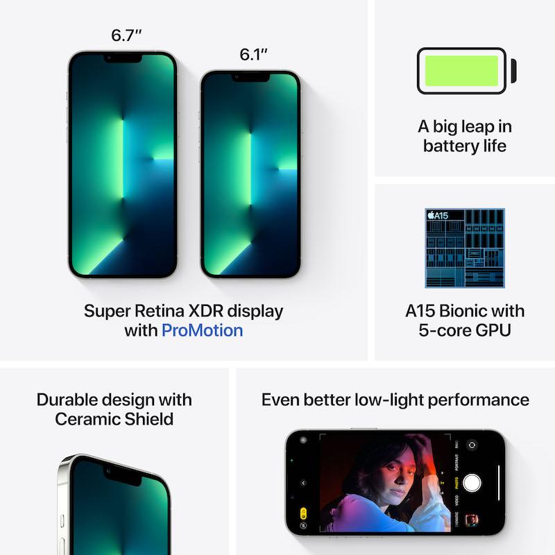 iPhone 13 Pro 256 GB - Prateado