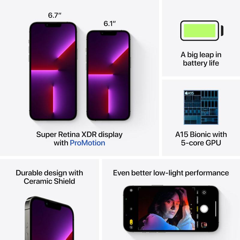 iPhone 13 Pro 512 GB - Grafite