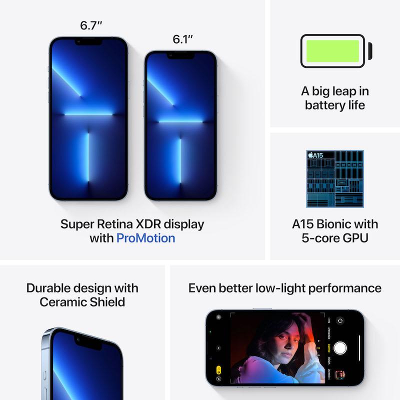 iPhone 13 Pro Max 512 GB - Azul Sierra