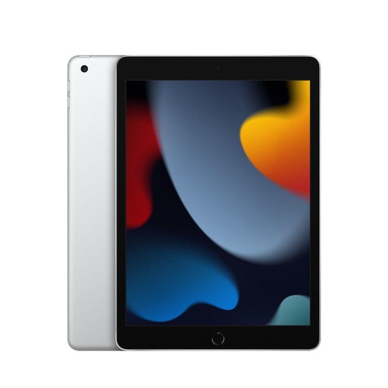 """iPad 10,2"""" Wi-Fi 256 GB (2021) - Prateado"""
