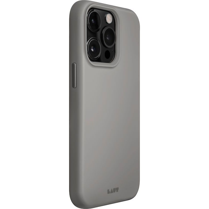 Capa LAUT HUEX MagSafe iPhone 13 Pro Max FOG GREY