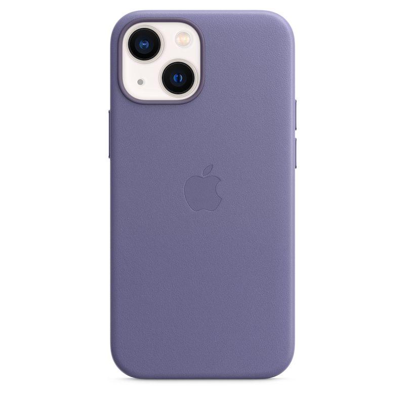 Capa em pele com MagSafe para iPhone 13 mini - Glicínia