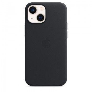 Capa em pele com MagSafe para iPhone 13 mini - Meia-noite