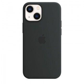 Capa em silicone com MagSafe para iPhone 13 mini - Meia-noite