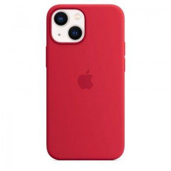 Capa em silicone com MagSafe para iPhone 13 mini - Vermelha (PRODUCT)RED
