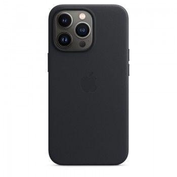 Capa em pele com MagSafe para iPhone 13 Pro - Meia-noite