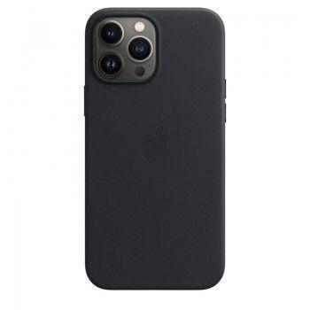 Capa em pele com MagSafe para iPhone 13 Pro Max - Meia-noite