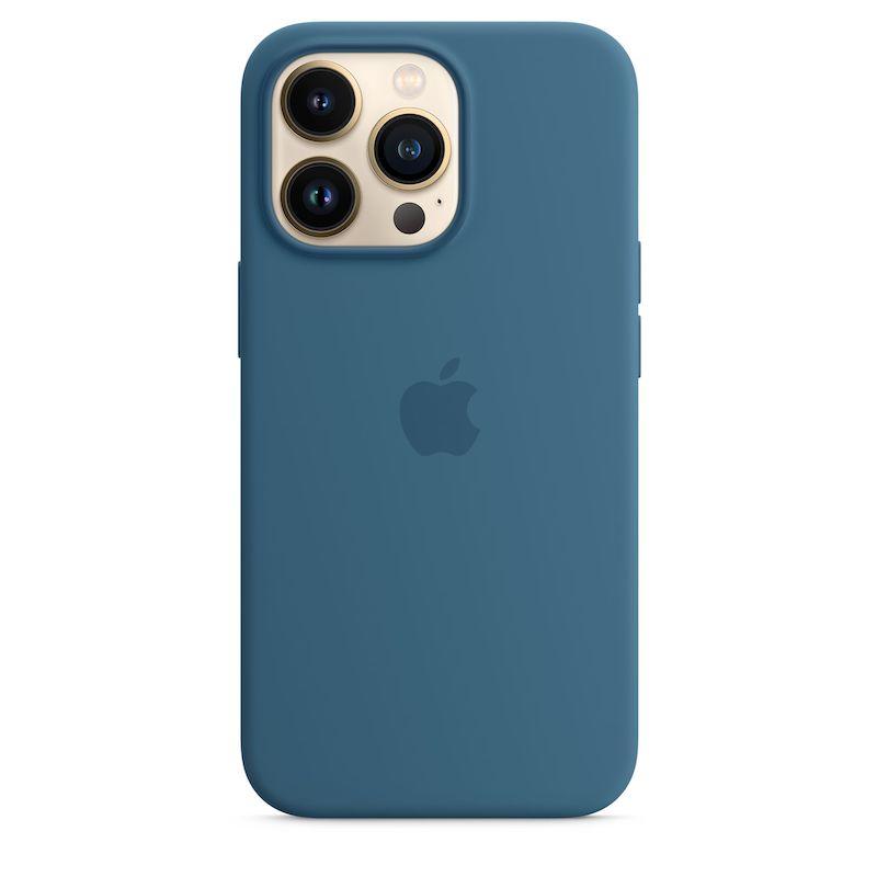 Capa em silicone com MagSafe para iPhone 13 Pro - Azul-celeste