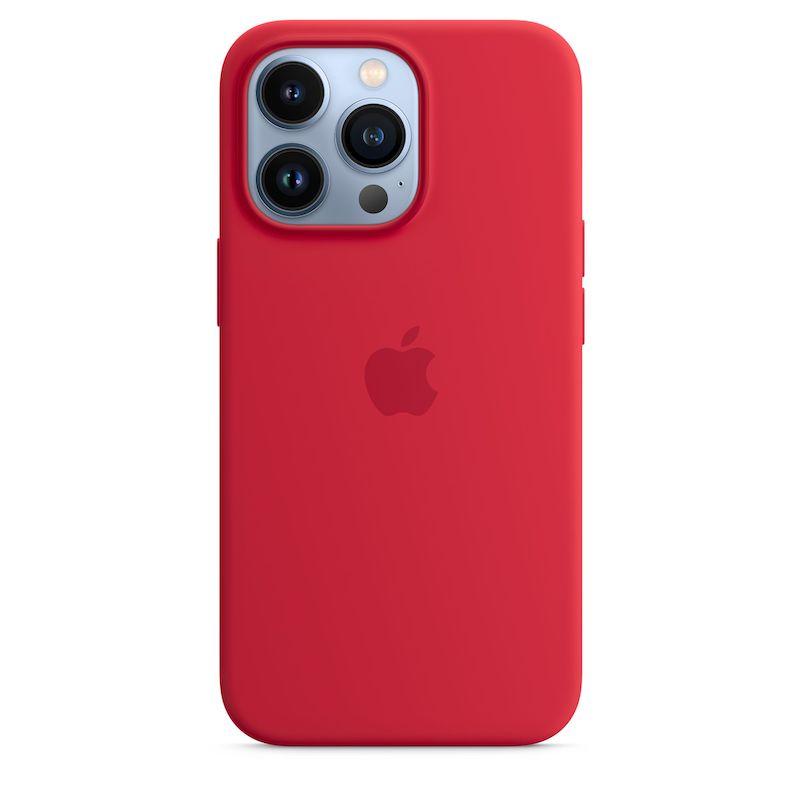 Capa em silicone com MagSafe para iPhone 13 Pro - Vermelho (PRODUCT)RED