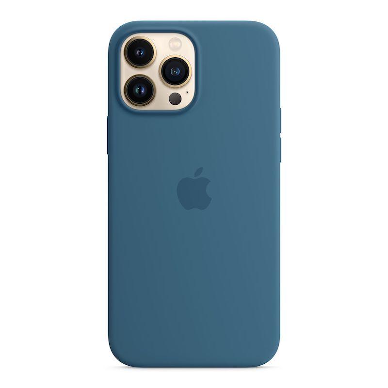 Capa em silicone com MagSafe para iPhone 13 Pro Max - Azul-celeste
