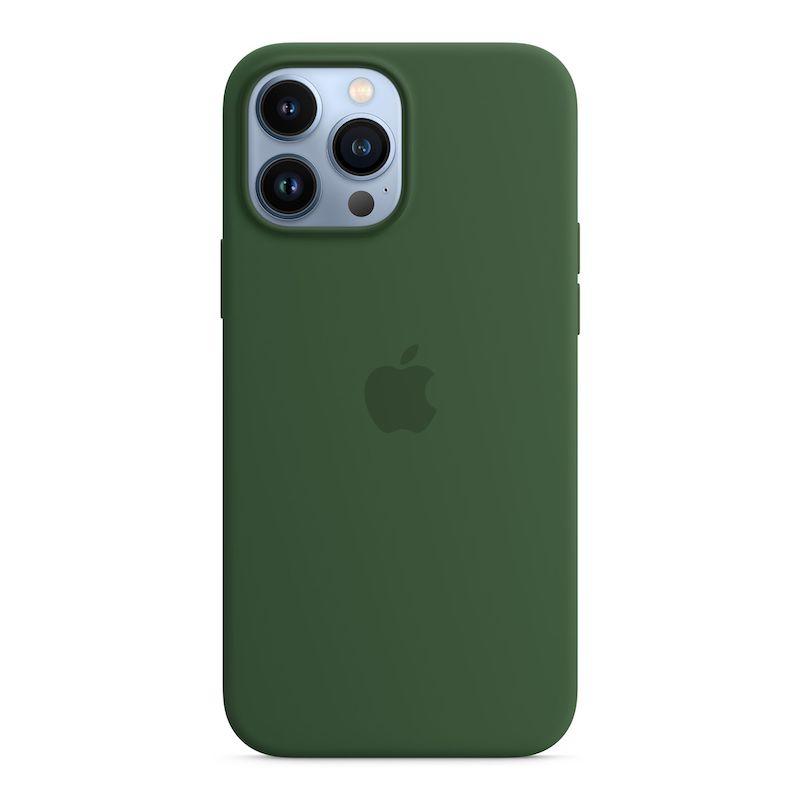 Capa em silicone com MagSafe para iPhone 13 Pro Max - Trevo