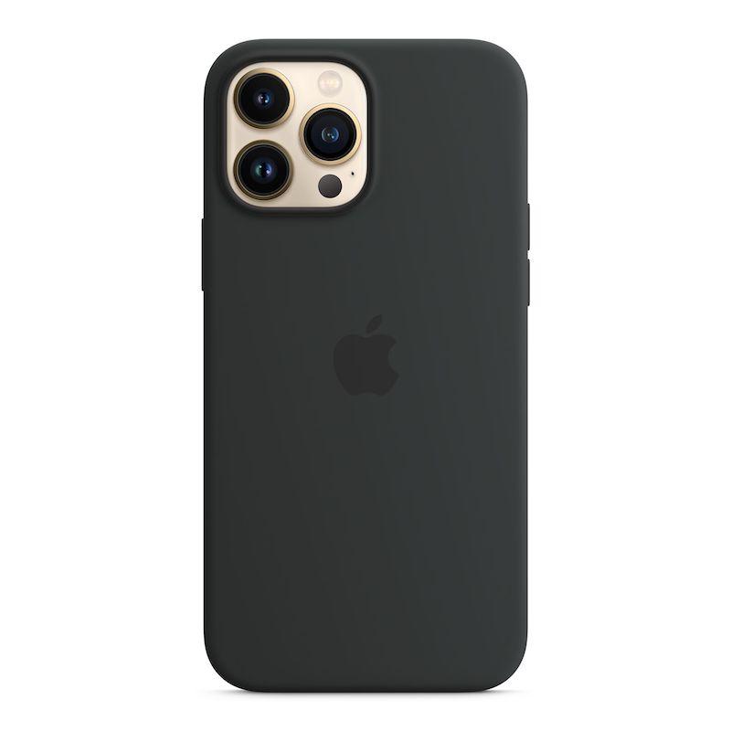 Capa em silicone com MagSafe para iPhone 13 Pro Max - Meia-noite