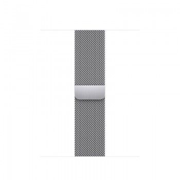 Bracelete para Apple Watch Milanesa em metal 38 a 41 mm - Prateado