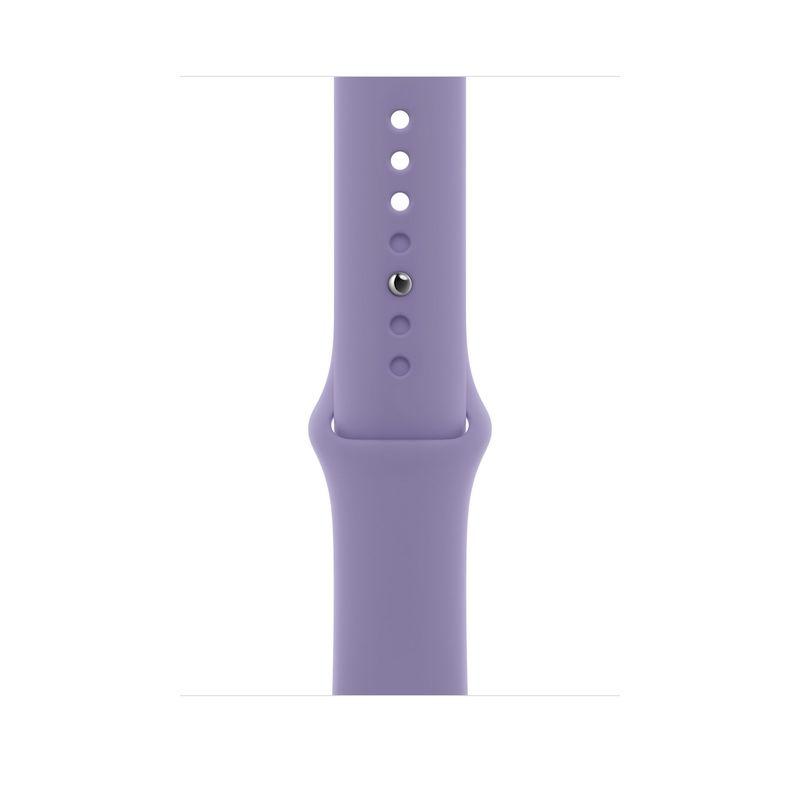 Bracelete desportiva para Apple Watch 42 a 45 mm - Lavanda inglesa